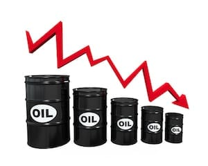 Oil Price Drops Picture